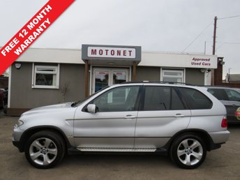 View our BMW X5 4.4i