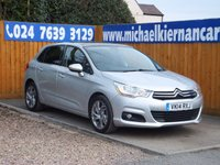 2014 CITROEN C4 1.6 E-HDI AIRDREAM SELECTION 5d 115 BHP £5995.00