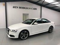 2013 AUDI A4 2.0 TDI BLACK EDITION 4d 141 BHP £13995.00