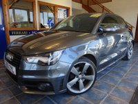 USED 2012 61 AUDI A1 2.0 TDI BLACK EDITION 3d 143 BHP SUPERB S LINE SPECIFICATION!