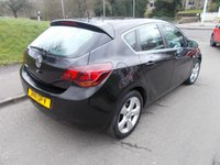 USED 2011 11 VAUXHALL ASTRA 1.4 SRI 5d 98 BHP ++LOW MILEAGE CAR COMES WITH A FREE 12 MONTHS AA BREAKDOWN COVER++