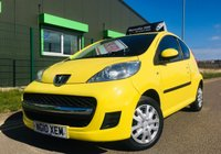 USED 2010 10 PEUGEOT 107 1.0 URBAN 3 DOOR only 1 lady owner with FSH