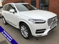 """USED 2016 16 VOLVO XC90 2.0 D5 INSCRIPTION AWD 5d AUTO 222 BHP Family 7-Seater       :       USB & AUX Sockets       :       Phone Bluetooth Connectivity             Satellite Navigation   :   Heated Front Seats   :   Automatic Tailgate   :   20"""" Alloy Wheels        Front & Rear Parking Sensors   :   2 Keys   :   Full Service History"""