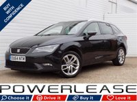 USED 2014 64 SEAT LEON 1.6 TDI SE TECHNOLOGY 5d 105 BHP FREE TAX SAT NAV DAB BLUETOOTH