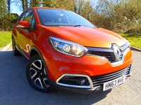 USED 2013 63 RENAULT CAPTUR 0.9 DYNAMIQUE MEDIANAV ENERGY TCE S/S 5d 90 BHP ** SATNAV , AIRCON, LOCAL CAR , £30 ROAD TAX, OUTSTANDING VEHICLE **