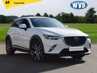 USED 2015 65 MAZDA CX-3 2.0 SPORT NAV 5d 118 BHP A very high specification Mazda CX-3 2.0 SPORT NAV 5DR AUTOMATIC in white with just 19000 miles.