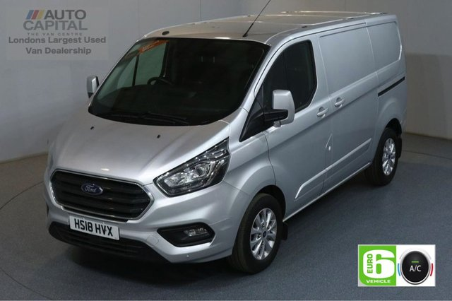 2018 18 FORD TRANSIT CUSTOM 2.0 300 LIMITED L1 H1 130 BHP SWB EURO 6 AIR CON  AIR CONDITIONING EURO 6 LTD