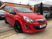 2013 VAUXHALL CORSA 1.2 LIMITED EDITION 3d 83 BHP £5699.00