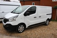 2016 RENAULT TRAFIC 1.6 SL27 BUSINESS DCI S/R P/V 1d 115 BHP NEW SHAPE £7495.00
