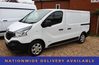 USED 2016 16 RENAULT TRAFIC 1.6 SL27 BUSINESS DCI S/R P/V 1d 115 BHP NEW SHAPE