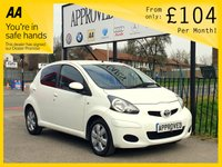 USED 2012 61 TOYOTA AYGO 1.0 VVT-I GO MM 5d AUTO 67 BHP 0% Deposit Plans Available even if you Have Poor/Bad Credit or Low Credit Score, APPLY NOW!