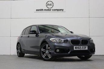 2016 BMW 1 SERIES 2.0 120D XDRIVE SPORT 5d AUTO 188 BHP £13499.00