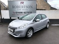 USED 2012 12 PEUGEOT 208 1.4 ACTIVE 5dr