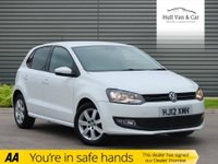 USED 2012 12 VOLKSWAGEN POLO 1.2 MATCH 5d 59 BHP SERVICE HISTORY,AIR CON,ALLOYS