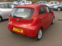 USED 2013 13 KIA PICANTO 1.2 2 5d AUTO 84 BHP BALANCE OF MANUFACTURERS SEVEN YEAR WARRANTY