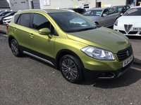 USED 2014 64 SUZUKI SX4 S-CROSS 1.6 SZ4 DDIS 5d 118 BHP OUR  PRICE INCLUDES A 6 MONTH AA WARRANTY DEALER CARE EXTENDED GUARANTEE, 1 YEARS MOT AND A OIL & FILTERS SERVICE. 6 MONTHS FREE BREAKDOWN COVER. CALL US NOW FOR MORE INFORMATION OR TO BOOK A TEST DRIVE ON 01315387070 !!