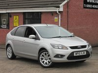 2010 FORD FOCUS 1.6 ZETEC (LOW MILEAGE) 5dr £3990.00