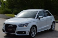 USED 2012 12 AUDI A1 1.6 SPORTBACK TDI S LINE 5d 105 BHP ** UPGRADED ALLOY WHEELS **
