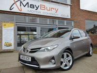 USED 2015 15 TOYOTA AURIS 1.6 EXCEL VALVEMATIC 5d AUTO 130 BHP ONE OWNER FULL TOYOTA SERVICE HISTORY AUTOMATIC TOP OF THE RANGE