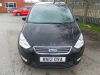 USED 2012 12 FORD GALAXY 1.6 ZETEC 5d 160 BHP