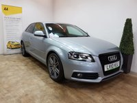 USED 2010 10 AUDI A3 2.0 TDI S LINE SPECIAL EDITION 3d 138 BHP SAT NAV AND HALF LEATHER