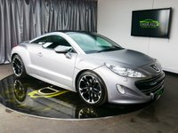 USED 2012 12 PEUGEOT RCZ 1.6 ASPHALT THP 2d 200 BHP £0 DEPOSIT FINANCE AVAILABLE, AIR CONDITIONING, AUTOMATIC HEADLIGHTS, BLUETOOTH CONNECTIVITY, CLIMATE CONTROL, CRUISE CONTROL, FULL LEATHER UPHOLSTERY, HEATED SEATS, PARKING SENSORS, SATELLITE NAVIGATION, STEERING WHEEL CONTROLS, TRIP COMPUTER