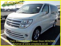 USED 2004 54 NISSAN ELGRAND Rider Autec 3.5 Automatic,32K, 8 Seats, Twin Sunroof, Full Leather TINY MILEAGE+ONLY 32K+SUNROOF