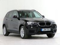 2014 BMW X3 2.0 XDRIVE20D SE 5d AUTO 188 BHP [FACELIFT] £16492.00