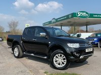 USED 2015 15 MITSUBISHI L200 2.5 DI-D 4X4 CHALLENGER LB DCB 1d 175 BHP Air Conditioning, Finance Arranged, One Owner.