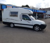 USED 2008 08 PEUGEOT PARTNER 1.6 800 LX SWB 1d 89 BHP Small camper Motorhome, in great condition......offering excellent spec