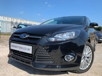 USED 2013 63 FORD FOCUS ZETEC TDCI 1.6 ZETEC TDCI 5d 113 BHP 2KEYS+20TAX+HISTORY+PARK+CD+