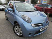 2006 NISSAN MICRA 1.2 ACTIV LIMITED EDITION 3d 80 BHP £1800.00