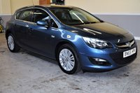 USED 2015 65 VAUXHALL ASTRA 1.4 EXCITE 5d 98 BHP Metallic blue, low mileage 2015 Vauxhall Astra 1.4 Excite! Finance available, all PX's welcome!