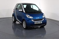 USED 2010 60 SMART FORTWO 1.0 PASSION MHD 2d AUTO 71 BHP HEATED LEATHER I BLUETOOTH