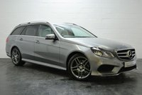 USED 2015 64 MERCEDES-BENZ E-CLASS 2.1 E300 BLUETEC HYBRID AMG LINE 5d AUTO 202 BHP 1 OWNER + FULL SERVICE HISTORY