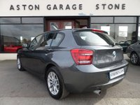 USED 2014 14 BMW 1 SERIES 2.0 116D SE 5d AUTO 114 BHP ** REAR SENSORS * BLUETOOTH * AIR CON **