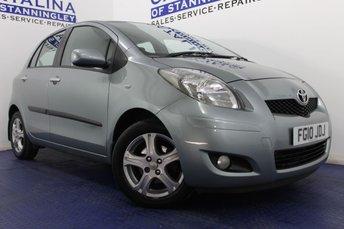 2010 TOYOTA YARIS 1.3 TR VVT-I 5d 99 BHP £4000.00