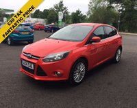 USED 2014 14 FORD FOCUS 1.0 ZETEC ECOBOOST 100 BHP THIS VEHICLE IS AT SITE 1 - TO VIEW CALL US ON 01903 892224