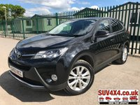 USED 2013 63 TOYOTA RAV4 2.2 D-4D ICON 5d 150 BHP CRUISE REVERSING CAMERA PRIVACY FSH NOW SOLD.