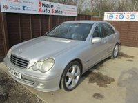 USED 2004 54 MERCEDES-BENZ C-CLASS 1.8 C200 KOMPRESSOR AVANTGARDE SE 4d AUTO 163 BHP FINANCE AVAILABLE FROM £27 PER WEEK OVER TWO YEARS - SEE FINANCE LINK FOR DETAILS
