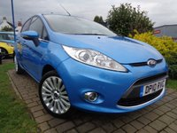 USED 2010 10 FORD FIESTA 1.4 TITANIUM 5d 96 BHP **Low Mileage Great Spec Full Ford Service History 8 Services 12 Months Mot**