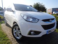 USED 2012 62 HYUNDAI IX35 1.7 PREMIUM CRDI 5d 114 BHP **Stunning Fully Loaded 1 Owner Full Hyundai Service History 5 Services 12 Months Mot**