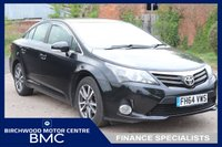 USED 2015 64 TOYOTA AVENSIS 2.0 D-4D ICON BUSINESS EDITION 4d 124 BHP