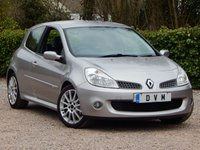USED 2007 57 RENAULT CLIO 2.0 RENAULTSPORT 197 3d 195 BHP FULL SERVICE HISTORY, LOW MILEAGE