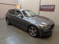 2012 BMW 1 SERIES 2.0 118D SPORT 5d AUTO 141 BHP £8795.00