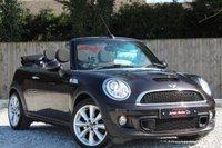 USED 2013 13 MINI CONVERTIBLE 1.6 COOPER S 2d 184 BHP