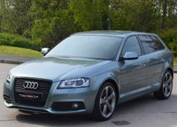 USED 2012 62 AUDI A3 1.8 SPORTBACK TFSI S LINE BLACK EDITION 5d 160 BHP TRUELY IMMACULATE.