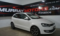 USED 2010 VOLKSWAGEN POLO 1.2 SE TDI 3DOOR 74 BHP CANDY WHITE