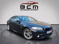 2012 BMW 5 SERIES 2.0 520D M SPORT 4d AUTO 181 BHP £11485.00