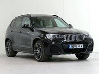 2016 BMW X3 3.0 xDrive30D M Sport PLUS Auto 255 BHP [£7,680 OPTIONS] £26687.00